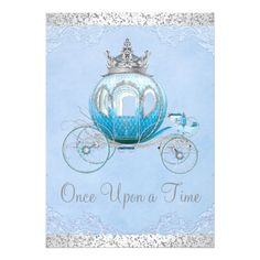 Shop Cinderella Once Upon a Time Princess Birthday Invitation created by InvitationCentral. Cinderella Party Invitations, Princess Birthday Invitations, Sweet 16 Invitations, Invitation Ideas, Shower Invitations, Invitation Cards, Invites, Cinderella Sweet 16, Cinderella Theme