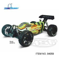 RC CAR HSP RACING King Hornet 94059 1/5 electric brushless 4x4 off road buggy ready to run dual batteries