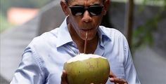 Barack Obama arrived in style at the Seed & Chips: The Global Food Innovation Summit in the city of Milan on Monday, soaring into the Italian town on a private jet and using 14 different vehicles along with helicopter protection to make his grand entrance for lecture on global warming.