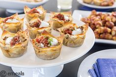 Miniature Taco Cups