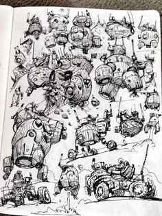 Landers, rovers, etc. - Ian McQue