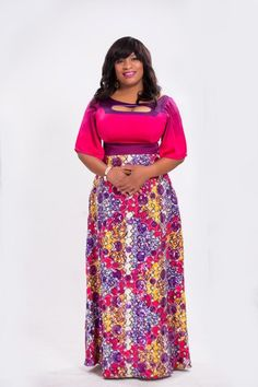 Plus Size Women's Clothing Designer First Look Nigerian Plus Size