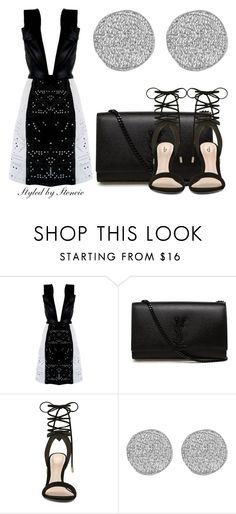 """""""Future"""" by stencie on Polyvore featuring Jacob Birge Vision, Yves Saint Laurent, ALDO and Karen Kane"""