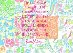 The Lille girl is always full of surprises. She lives everyday like it's a celebration. Never has a dull moment, and makes every hour a happy hour.