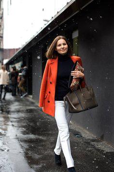 #On The Street��at Etro, Milan P.1  Black Blazer  #2dayslook # new style fashion #Blazerfashion  www.2dayslook.com