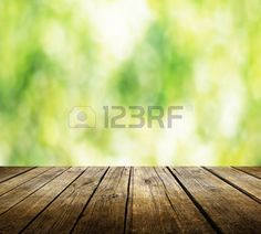 background wood: empty table for product display montages Stock Photo