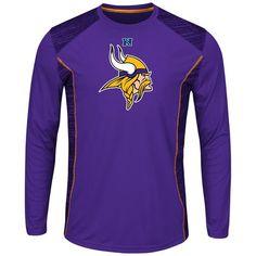 NFL Minnesota Vikings Mens Synthetic Tee: Shopko