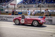 #Maserati #300S à #LeMansClassic 2016 #MoteuràSouvenirs Reportages : http://newsdanciennes.com/tag/le-mans-classic/ #ClassicCars #ClassicRacing