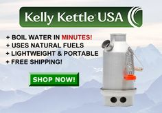 Kelly Kettle, Outdoor Supplies, Gifts For Campers, Cooking Stove, Gifts For Hunters, Water Purification, Wilderness Survival, Emergency Preparedness, Camping Gear