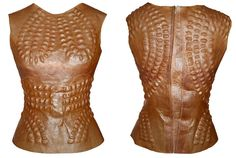 Suzann Lee's design made from a totally organic bioengineered material produced from celluloid by bacteria.