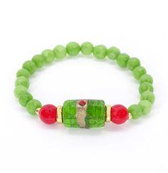 11 € Jade, Beaded Bracelets, Jewelry, Handmade Bracelets, Stretch Bracelets, Ear Studs, Beading, Pearls, Crystals