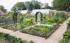 old vicarage with kitchen gardens