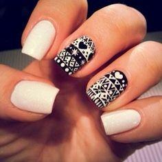 Nail wraps or hand-drawn?
