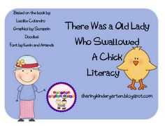 There was an old lady who swallowed a....
