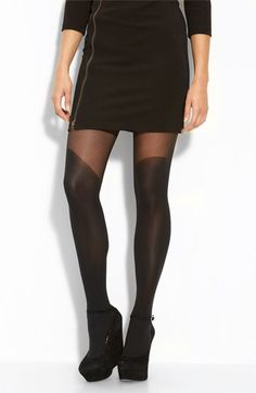 Pretty Polly Over the Knee Tights available at Nordstrom