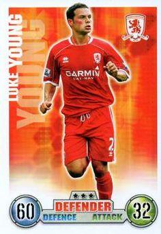 2007-08 Topps Premier League Match Attax #196 Luke Young Front