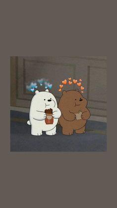 Cute Panda Wallpaper, Cartoon Wallpaper Iphone, Mood Wallpaper, Bear Wallpaper, Cute Disney Wallpaper, Kawaii Wallpaper, Cute Wallpaper Backgrounds, Galaxy Wallpaper, We Bare Bears Wallpapers