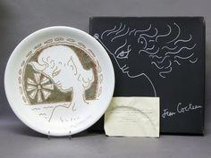 【アンティーク 古道具 JIKOH】【中古】【RCP】ヴィンテージコレクターズアイテム SEYEI Jean Cocteau ジャンコクトープレート 飾皿【楽天市場】 Jean Cocteau, Decorative Plates, Shopping