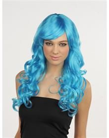 so pretty! Blue Monster Wig -lrizzlerae