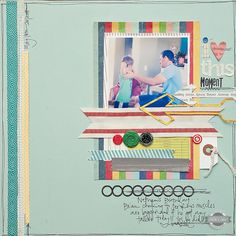 """I+""""heart""""+this+moment+{Studio+Calico+July+Kit}+by+MaggieHolmes+@2peasinabucket"""