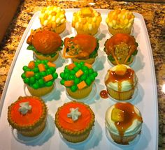 Thanksgiving cupcakes by Claire