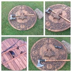 Custom axes, Shields and Viking crafts by Valkyriecustoms