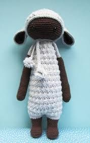 free crochet pattern lalylala doll - Google Search