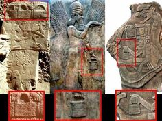 """Bucket of life"" symbol DNA engineering ? 3 different civilisations..."