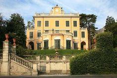 Italian Villas:Villa Ricordi, Lago di Como, Lombardia, italy
