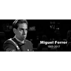 """6,857 Likes, 115 Comments - Star Trek (@startrek) on Instagram: """"Remembering #MiguelFerrer, the executive officer of the U.S.S. Excelsior in #TheSearchForSpock…"""""""