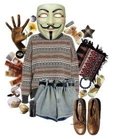 """Eye Spy"" by causingpanicatthetheater ❤ liked on Polyvore featuring art"