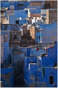 The Blue City, Jodhpur, India.