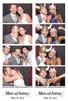 Photo Booth Strips Http Www Madmochiphotobooth Unique Wedding