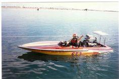 Drag boat Don Ermshar BGF Illusion Firebird