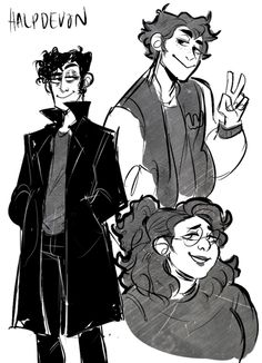 """halpdevon: """"took a break from commissions to draw some kidz """" Jason Dean Heathers, Heathers Fan Art, Heathers The Musical, Theatre Nerds, Musical Theatre, Theater, Jd And Veronica, Be More Chill, Dear Evan Hansen"""