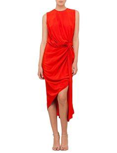 Zimmermann Silk Twist Drape Dress