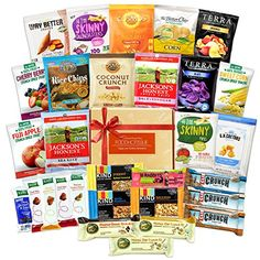 Healthy Snacks Care Package Variety Pack Bundle Assortment (30 Count) Food Hot Issue http://www.amazon.com/dp/B016CDFHPG/ref=cm_sw_r_pi_dp_WSiwwb1CBTNB3