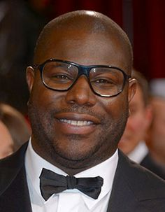 Steve McQueen, director of 12 Years A Slave, looks charming in glasses!