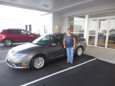 Mark Craig and the rest of us here at Court Street would like to congratulate Michelle Peters of Clifton on the purchase of her 2010 Ford Fusion Hybrid.  Thank you for your business Michelle!