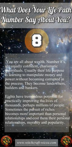 Astrology and numerology chart.
