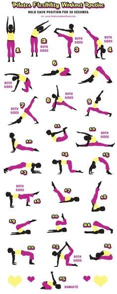 Pilates Flexibility Workout Routine