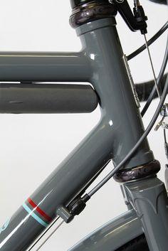 Headtube fillets, custom barrel adjuster stops, Rob Chapman final build, by Signal Cycles, via Flickr