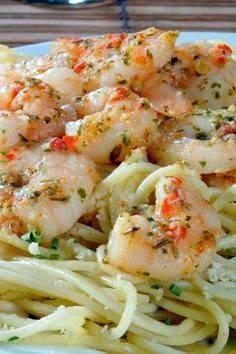 Lemony Italian Shrimp Scampi Pasta