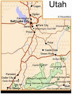 46 Best Utah Maps Images Utah Map Maps Cards