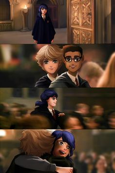 Reacting To Miraculous Ships - This is from Miraculous Tales Of Ladybug and Cha. - Reacting To Miraculous Ships – This is from Miraculous Tales Of Ladybug and Chat Noir. Ladybug And Cat Noir, Meraculous Ladybug, Ladybug Comics, Adrian And Marinette, Marinette Et Adrien, Lady Bug, Hogwarts, Los Miraculous, Miraculous Ladybug Fan Art