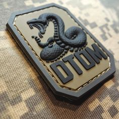 Dtom Don'T Tread on Me PVC Tea Party Snake Army Morale Tactical ACU Velcro Patch   eBay