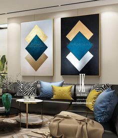 gold leaf art abstract painting abstract gold painting diptych rays gold leaf textured painting on canvas modern art by julia kotenko ? Diy Canvas Art, Diy Wall Art, Wall Art Sets, Wall Canvas, Modern Canvas Art, Art Deco Wall Art, Iron Wall Decor, Art Mural, Texture Painting On Canvas