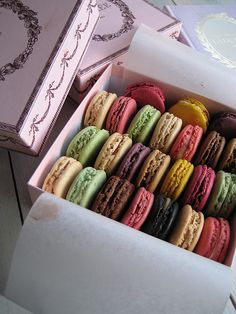 Laduree macarons! My friend brought me some of these when she visited Paris