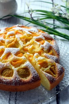 Jogurtowe ciasto z brzoskwiniami – Smaki na talerzu First Communion Cakes, Yogurt Cake, Polish Recipes, Food Cakes, Pepperoni, Baked Goods, Waffles, Cake Recipes, Pizza