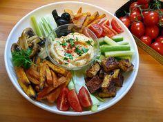 Vöröskaktusz diétázik: Vegán mártogatós vacsora Pasta Salad, Cobb Salad, Kung Pao Chicken, Vegan Recipes, Ethnic Recipes, Food, Crab Pasta Salad, Vegane Rezepte, Essen